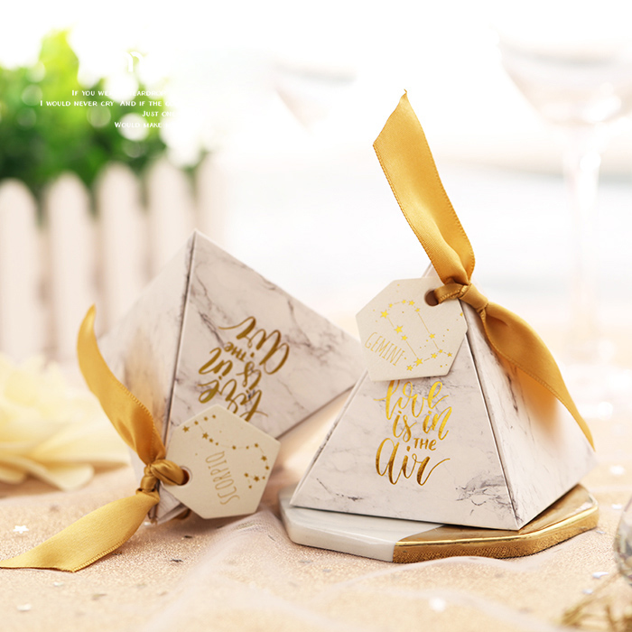 Different types gift candy packaging box