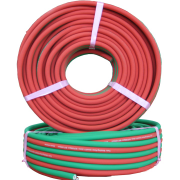 Oxygen and Acetylene welding twin hose pipe