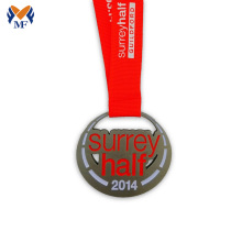 Good Quality for Gold Medal Custom half marathon race metal medal supply to Yugoslavia Suppliers