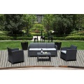 new style rattan outdoor wicker sofa