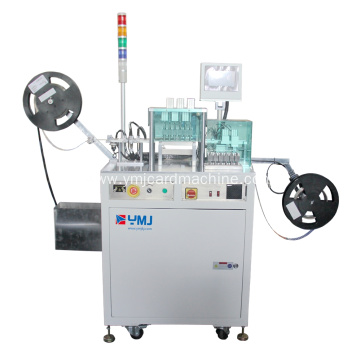 IC Punching Machine with Six Punching Tools