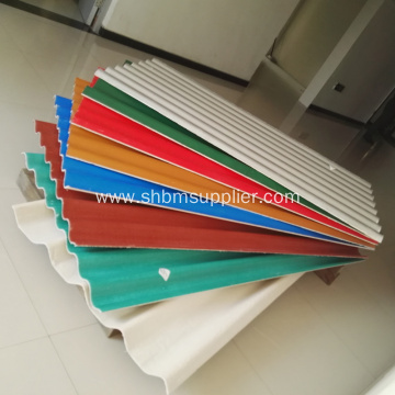 Non-asbestos Glazed Magnesium Oxide Roofing Sheets