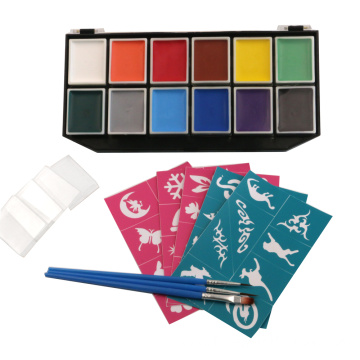 Hot Sale Food Grade Carnival Face Painting Kits