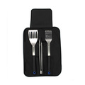 Plastic Handle 3pcs Barbecue Grill Tools With Bag