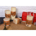 Long Burning Time Square Pillar Candles
