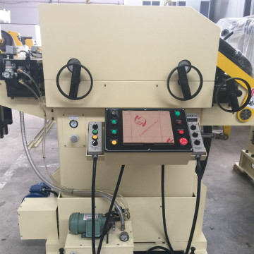 Decoiler Cum Straightener & Servo Feeder