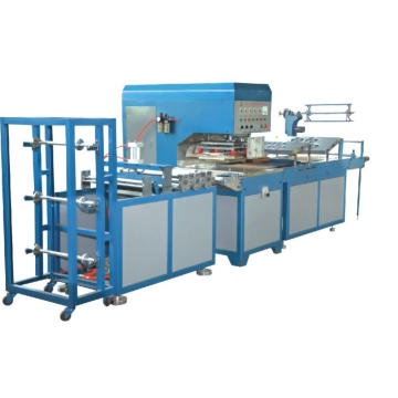 Automatic soft pvc wristband making machine