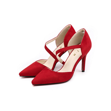 Red Sexy Sharply Toe Stiletto Heel Pumps