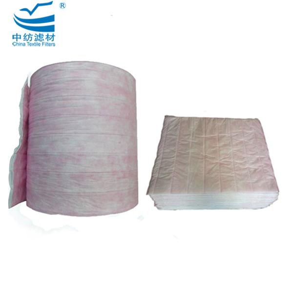 High Quality Polyester Synthetic F7 Air Filter