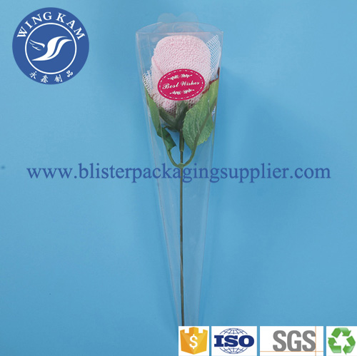 See Through Cylinder Packaging Container Box for Fake Rose