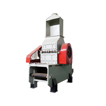 Waste solid material crusher