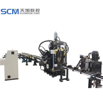 High Speed CNC Punching Angle Production Line