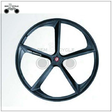 Black disc brake 700c mag wheels