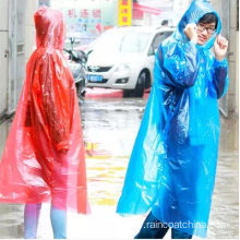 High Quality for for Disposable PE Raincoat PE Transparency Hooded Disposable Raincoat With Sleeve export to Christmas Island Importers