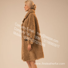 Women Lamb Fur Outward In Winter