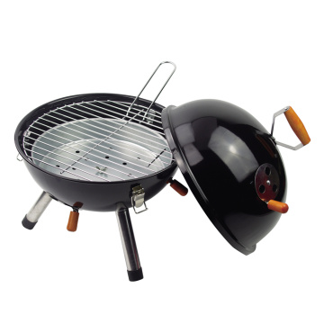 portable easy assembly char boil BBQ grill
