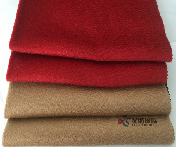 Single Face Water Wave 100% Wool Fabric