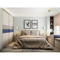 Pagpapasadya ng Adult Bedroom Blue at Grey