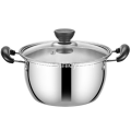 Two Piece Stainless Steel Cookware Set