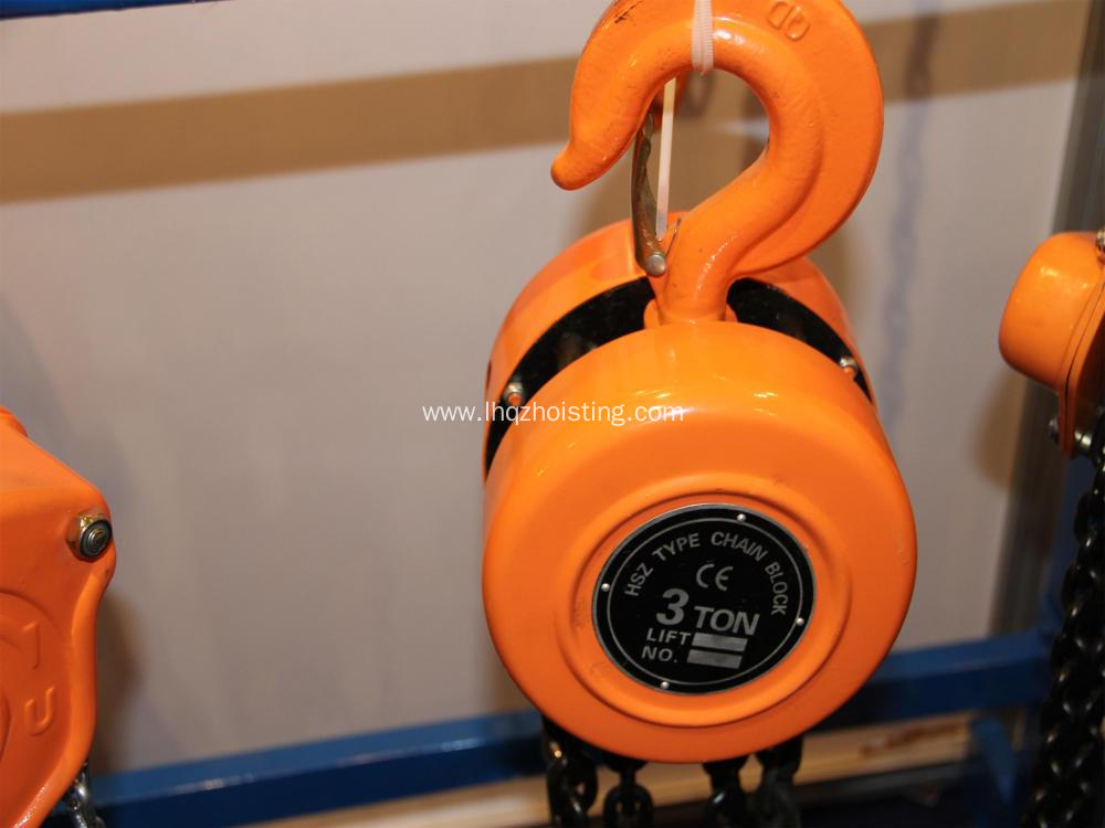 HSZ chain block Lifting Chain Hoist 1.5ton