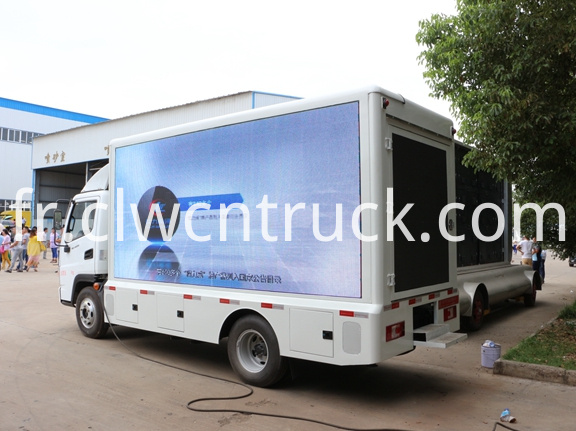 Outdoor Advertising Truck 2