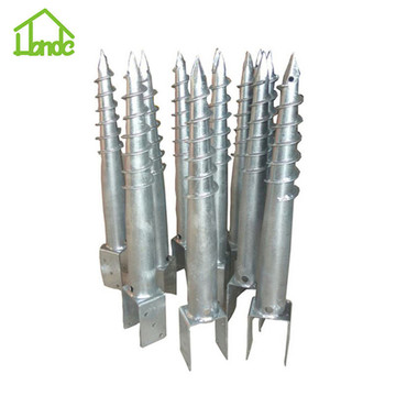 Hot Dipped Galvanized U Ground Screw