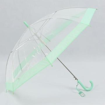 Transparent Children Umbrella POE kids umbrella