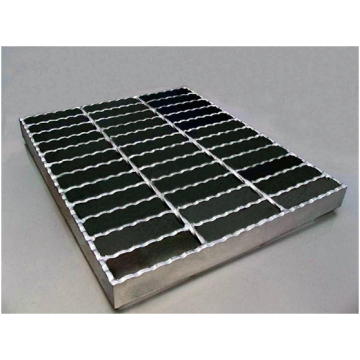 I shape protection galvanized steel grating