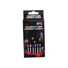 Party Decoration Birthday Cake Color Flame Candle