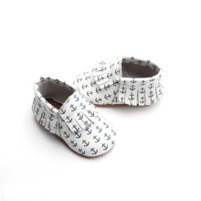 Hottest Wear-Resisting Leather Baby Promotion Now Moccasins