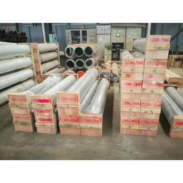 Concrete pump delivery pipe cylinder