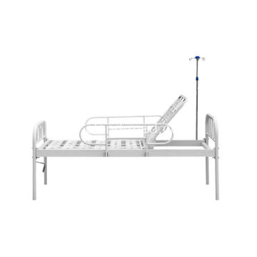 I-Iron Head Double-folding Bed Design Hospital Isibhedlela
