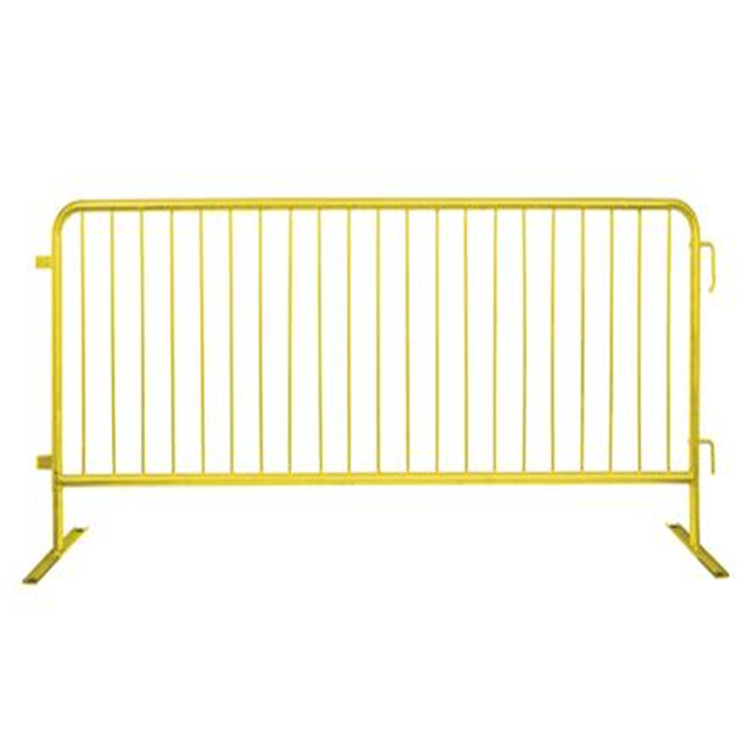 Traffic control galvanized steel barricades barrier fence
