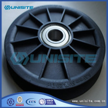 Adjustable steel pulley sheave