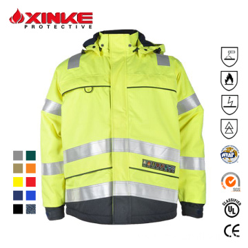 Fire Resistant Mining Jacket for Mining Industry