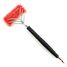 Good Quality for Nylon Grill Brush Long Handle Nylon BBQ Grill Cleaner export to Japan Factory