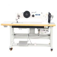 Long Arm Double Needle Compound Feed Walking Foot Heavy Duty Sewing Machine