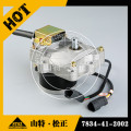 7834-41-2002 engine 6D102 throttle motor for PC200-7 excavator