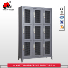 OEM/ODM for Steel Lockers Metal Locker With Mash Doors export to United Arab Emirates Wholesale