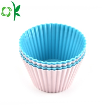 Silicone Dessert Muffin Flexible Baking Molds