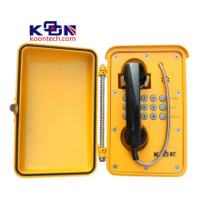 Waterproof SUS Handset Emergency Call Box