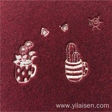 Hot style indoor outdoor floor mats embroidery