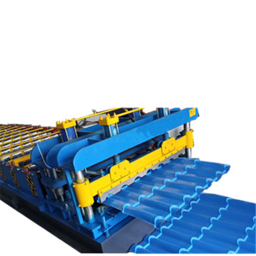 Glazed Tile Roll Forming Manufacturing Machine