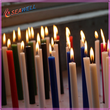 Factory Price for Soy Candle Sticks decorative paraffin wax color stick pillar candle supply to South Korea Exporter