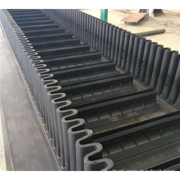Belt Conveyor Cleated Sidewall