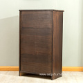 Living wood seven bucket cabinets, household wooden storage cabinets,cabinet wood