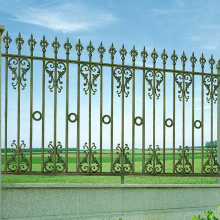 Best Quality for China Iron Art,Golden Iron Art,Metal Iron Art Supplier Art And Crafts Decorative Wrought Iron Fence supply to Spain Factory