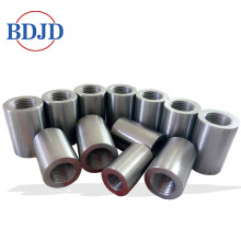 New Fashion Design for for Parallel Thread Screw Rebar Coupler Silver Color Rebar Couplers in Construction Projects supply to United States Factories