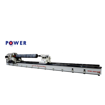 Cylindrical Rubber Roller Grooving Machine