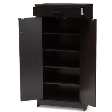 Tall Shoe Storage Cabinet with Doors for Sale